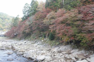 紅葉を見に香嵐渓へ