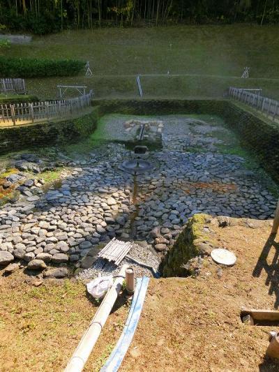 奈良旅行四日目:亀形石造物・酒船石