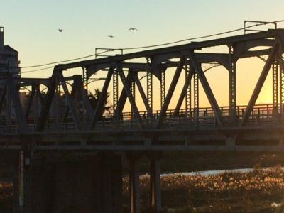 仕事をしている場合じゃねぇ!渡良瀬橋を見に行かなくては!