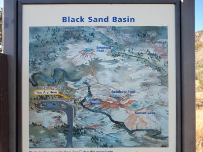 2015 レンタカーで周るイエローストーン・グランドティートン国立公園の旅 2日目後半 オールドフェイスフル