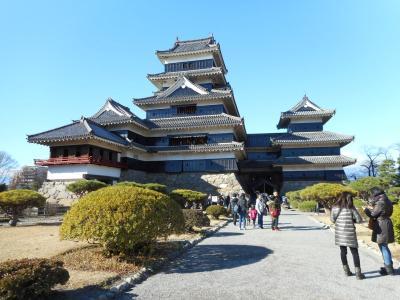 2015年11月 信州旅行3 松本2日目 松本城と松本市内散策