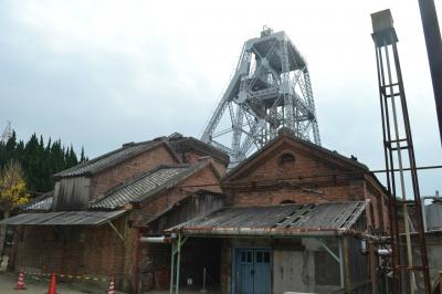 三池炭鉱万田坑、宮原坑
