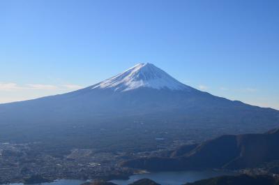 富士山の撮影 2015.11.28 =2.新道峠からの富士山=