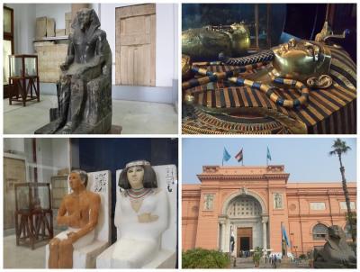 サッカラの階段ピラミッド&博物館内の写真撮影開始