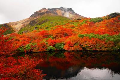 那須岳の紅葉を求めて 日帰り登山
