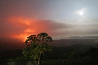 感謝祭シーズンのハワイ 五里霧中のハワイ島火山国立公園