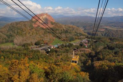 秋の洞爺湖2泊3日 ①往路と昭和新山