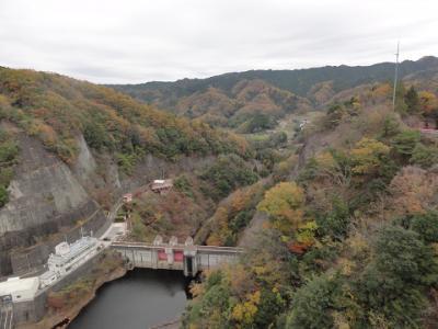 日帰り・竜神峡・袋田の滝・舟納豆