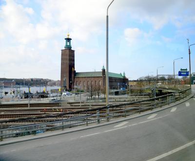初めての北欧 その1  ストックホルム ガムラスタンと市庁舎