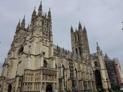 2015年イギリス旅行⑧ 現地ツアーでリーズ城とカンタベリーへ