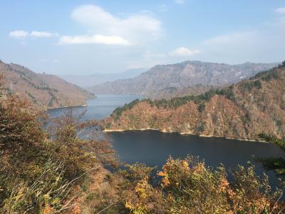 出張のついでに奥只見湖と谷川岳