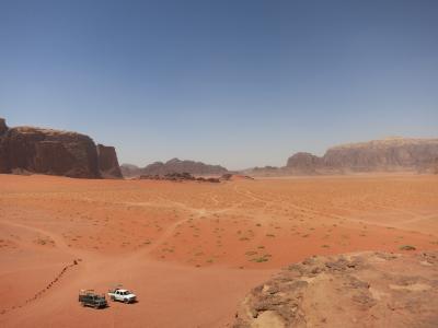 砂漠の国 ヨルダン(2) ワディ・ラム、死海、アンマン
