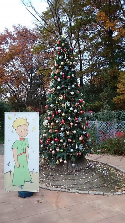 「星の王子さま」がテーマのテーマパーク型PAのクリスマス