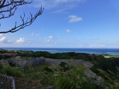 今帰仁城跡と古宇利島へ