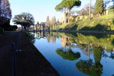 40  Tivoli Hadrian's Villa 西地中海クルーズ を終わって;2015/1/15-2/16 Venezia5泊、Firenze4泊のあと,そしてRome7,
