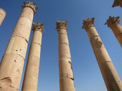 砂漠の国 ヨルダン(3) ウンム・カイス、ジェラシュ、アズラック
