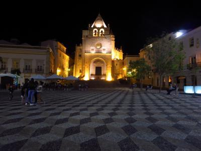 夏旅は初ポルトガル10★エルヴァス★スペインとの国境近くにある要塞都市エルヴァスの静かな夜