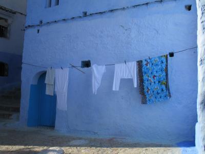 旅する貧乏ガードマン10万あったら旅に出よう「10万円で収まるかモロッコ11日間」妖しき青の町シャウエン後半そしてカサブランカ経由でエッサウィラに大移動
