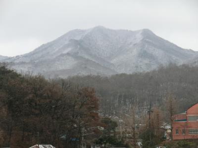 第40回海外放浪・韓国No20 その2 江華島‥摩尼山を雪中登山!。