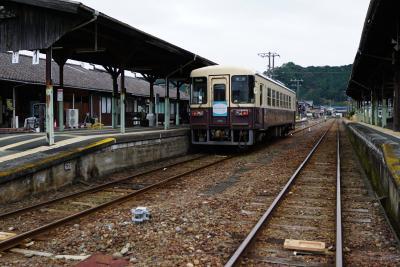 天竜浜名湖鉄道 西の終点から出発。