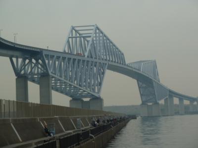 レインボ ブリッジのループ橋&お台場公園/ゲートブリッジ・ 散歩ツーリング ^^! 後編 ブログ&動画