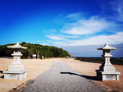 青島神社と青島ビーチ