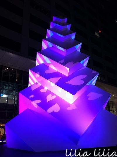 新宿のイルミネーション10th Shinjuku Terrace City ILLUMINATION '15-'16★Suicaペンギン