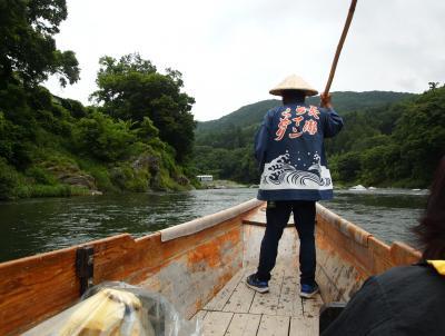 三峯神社白い気守と秩父三社を巡る旅【1】一日目 長瀞ライン下り