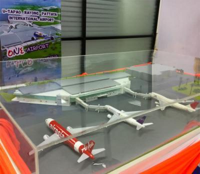 バンコク首都圏第三の空港として注目されつつあるウタパオ(ラヨーン/パタヤ)国際空港を利用してみた
