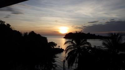 チャーン島再訪2 シュノーケル三昧とサンセット
