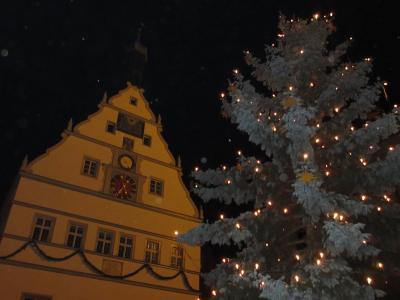 ドイツ・クリスマスマーケット巡り◇2 ミルテンブルク~ローテンブルク