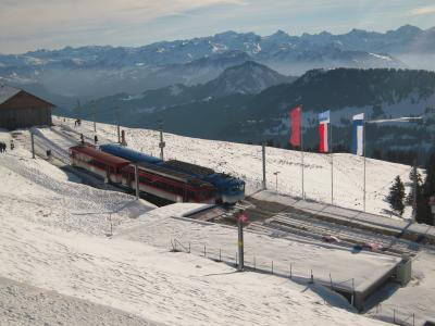 冬のフランス・スイス旅行 2スイスリギ山・ルツェルン・バーゼル編