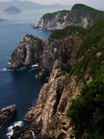 四国一の絶景・絶壁海崖の回遊コース
