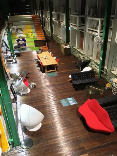 新名所リバーウォークが人気のパーククローン花市場にオープンしたお洒落なホステルに宿泊してみた