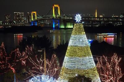 クリスマスイルミネーション in お台場