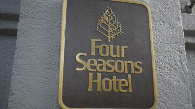 フォーシーズンズホテルと中庭【ちょっとディープなメキシコの旅No.8】