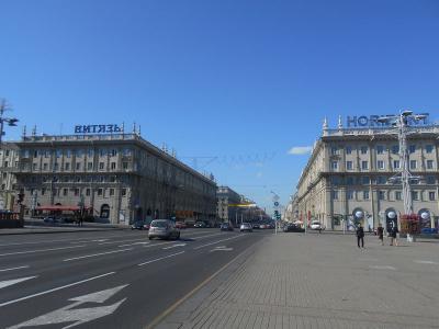 弾丸ベラルーシ1508  「人口190万人のベラルーシの首都は、旧ソ連邦のテーマパークのようでした。」  ~ミンスク~