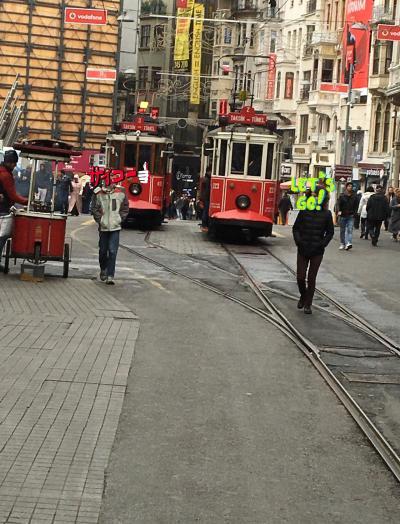 初イスタンブール
