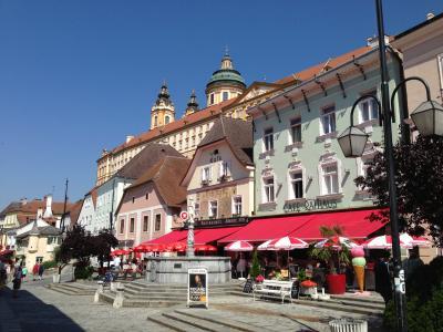 夏のオーストリア旅★④ メルク修道院と鉄道の旅