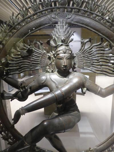 インド北西部14の世界遺産を巡る旅 ~デリーの国立博物館は、空いているけどさすがにすごい ~ブロンズ像編~