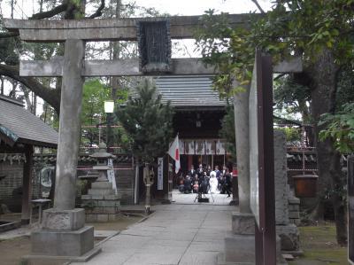 東京十社めぐり⑩赤坂氷川神社~赤坂散策