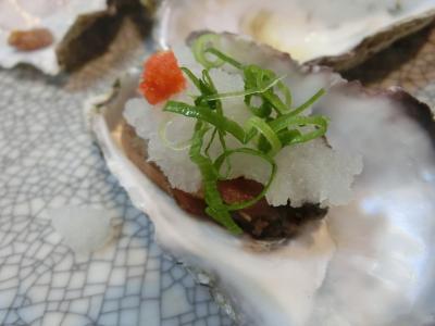 岡山で牡蠣を食べる