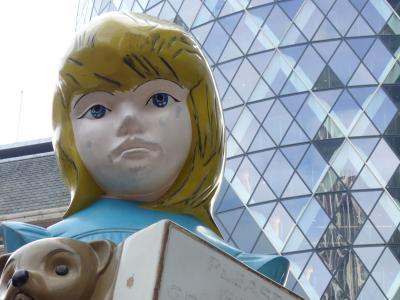 週末ロンドン③ ロンドン気づきの旅 (シティ、モニュメント、ミュージカル鑑賞、ライアンエアー)