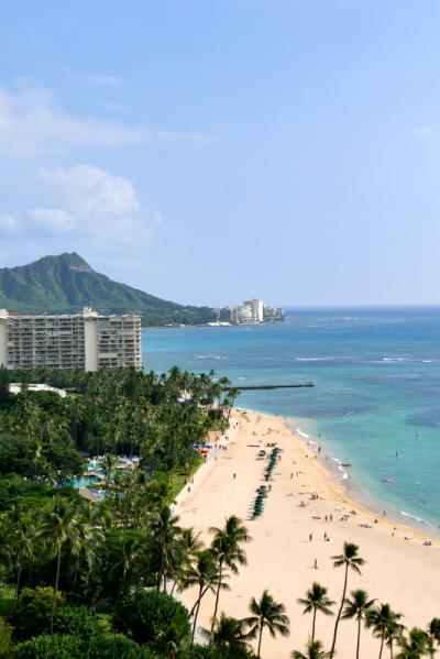 ドライブ in Hawaii 8(自然満喫 カウアイ島&オアフ島)オアフ島着