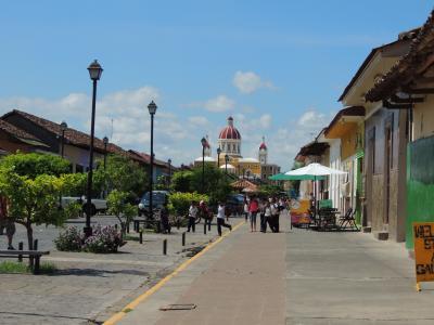 ニカラグア 古都グラナダ