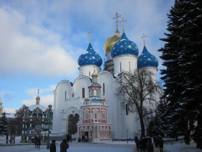 厳冬のロシア7日間の旅④サンクトペテルブルク~モスクワ