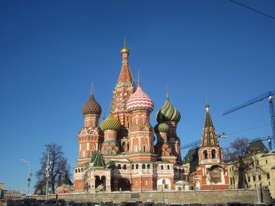 厳冬のロシア7日間の旅⑤モスクワ