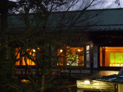 2015年末、箱根クラシック・ホテルに滞在