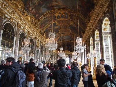 パリ一人旅②「サクレクール、オペラガルニエ、ヴェルサイユ宮殿」
