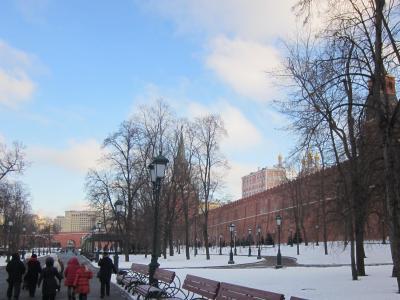 厳冬のロシア7日間の旅⑥モスクワ~帰国